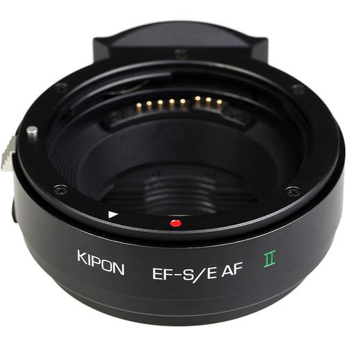 KIPON Autofocus Lens Mount Adapter for Canon EF-Mount Lens to Sony-E Mount Camera