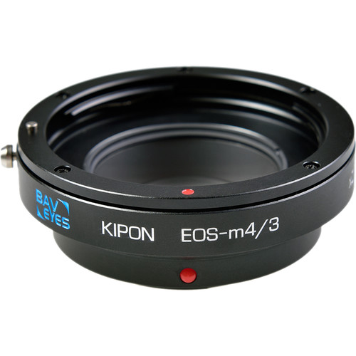 KIPON Lens Mount Adapter for Canon EF-Mount Lens to Micro Four Thirds-Mount Camera