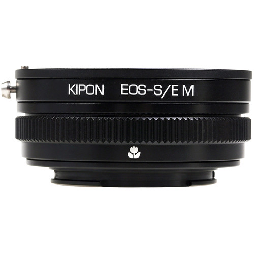 KIPON Macro Lens Mount Adapter with Helicoid for Canon EF-Mount Lens to Sony-E Mount Camera