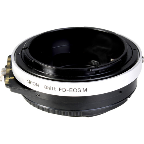 KIPON Lens Mount Adapter for Canon FD Lens to Canon M-Mount Camera with Shift Functionality