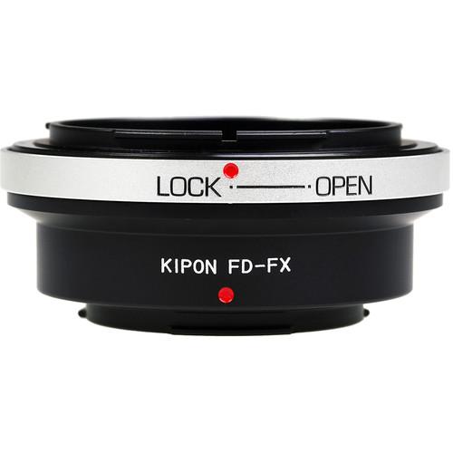 KIPON Lens Mount Adapter for Canon FD-Mount Lens to FUJIFILM X-Mount Camera