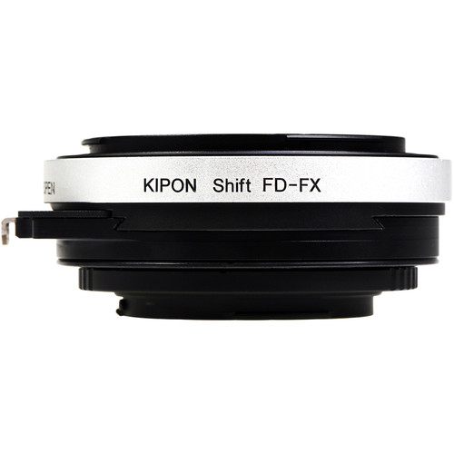 KIPON Shift Lens Mount Adapter for Canon FD-Mount Lens to FUJIFILM X-Mount Camera