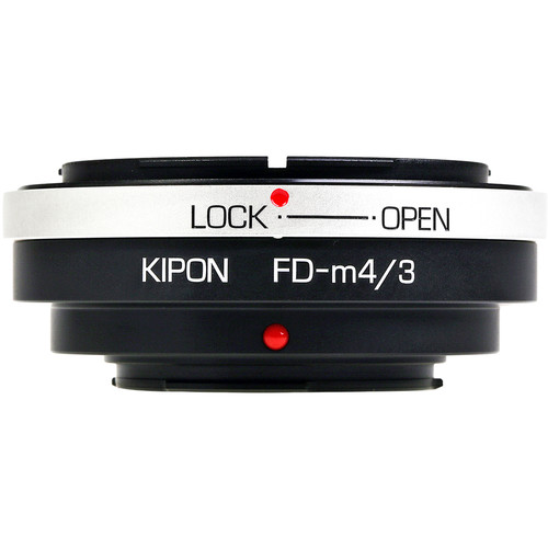 KIPON Lens Mount Adapter for Canon FD Lens to Micro Four Thirds Camera