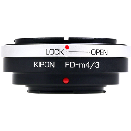 KIPON Lens Mount Adapter for Canon FD-Mount Lens to Micro Four Thirds-Mount Camera