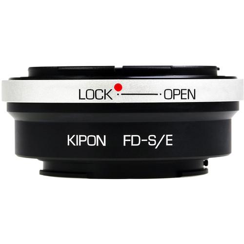 KIPON Lens Mount Adapter for Canon FD-Mount Lens to Sony E-Mount Camera