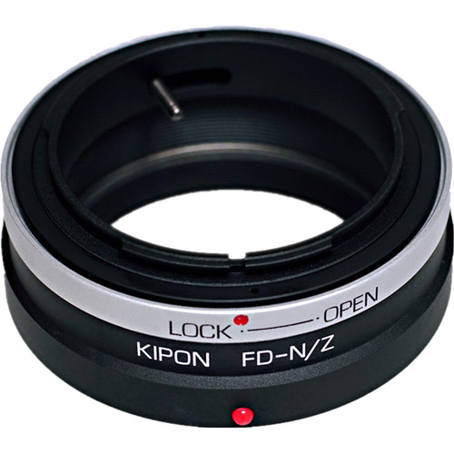 KIPON Lens Mount Adapter for Canon FD-Mount Lens with Helicoid to Nikon Z-Mount Camera