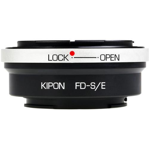 KIPON Lens Mount Adapter for Canon FD-Mount Lens to Sony-E Mount Camera