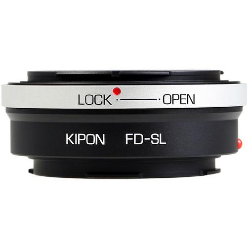 KIPON Lens Mount Adapter for Canon FD-Mount Lens to Leica L-Mount Camera