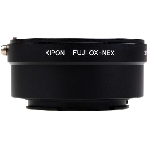 KIPON Lens Mount Adapter for Fujica X-Mount Lens to Sony-E Mount Camera