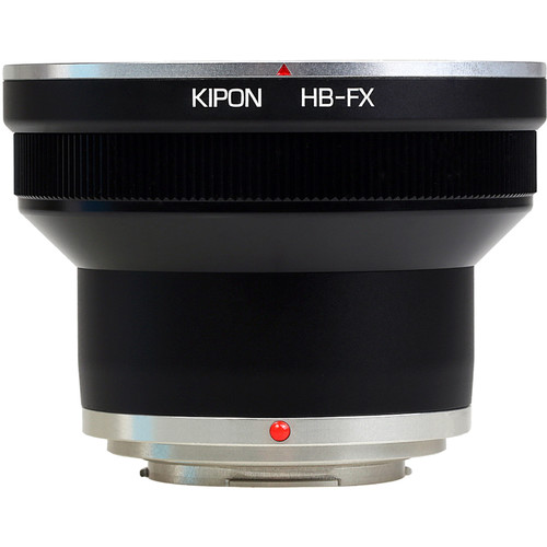 KIPON Lens Mount Adapter for Hasselblad V Lens to FUJIFILM FX-Mount Camera