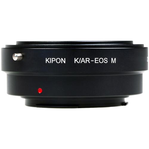 KIPON Lens Mount Adapter for Konica AR-Mount Lens to Canon EF-M Mount Camera