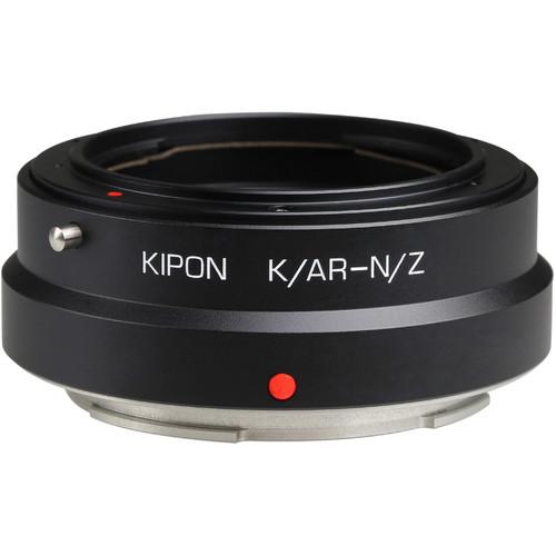 KIPON Lens Mount Adapter for Konica AR-Mount Lens to Nikon Z-Mount Camera