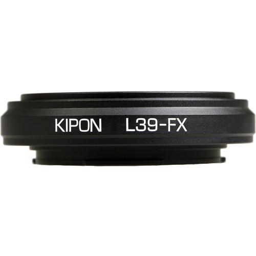KIPON Lens Mount Adapter for L39 Lens to FUJIFILM FX-Mount Camera