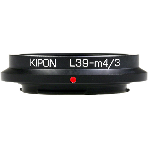 KIPON Lens Mount Adapter for L39-Mount Lens to Micro Four Thirds-Mount Camera