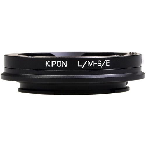 KIPON Lens Mount Adapter for Leica M-Mount Lens to Sony-E Mount Camera