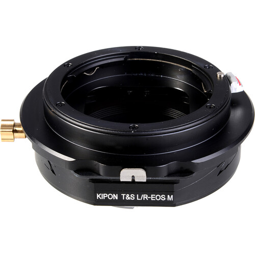KIPON Tilt/Shift Lens Mount Adapter for Leica R-Mount Lens to Canon EF-M-Mount Camera