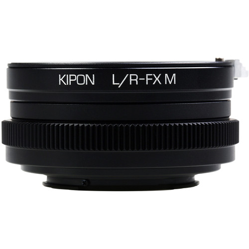KIPON Lens Mount Adapter for Leica R Lens to FUJIFILM X Camera with Helicoid