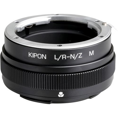 KIPON Lens Mount Adapter for Leica R-Mount Lens with Helicoid to Nikon Z-Mount Camera