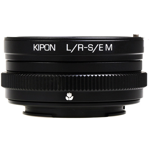 KIPON Macro Lens Mount Adapter with Helicoid for Leica R-Mount Lens to Sony-E Mount Camera
