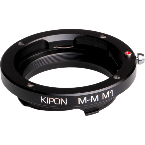 KIPON 8.1mm, M1 Macro Adapter with 6-Bit Coding for Leica M-Mount Lens to Leica M-Mount Camera