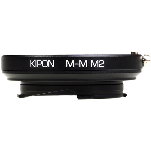 KIPON 10mm, M2 Macro Adapter with 6-Bit Coding for Leica M-Mount Lens to Leica M-Mount Camera