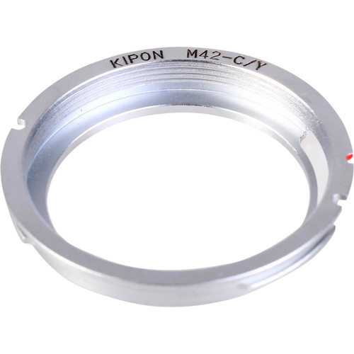 KIPON Lens Mount Adapter for M42-Mount Lens to Contax/Yashica-Mount Camera