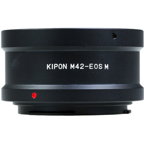 KIPON Lens Mount Adapter for M42-Mount Lens to Canon EF-M Mount Camera