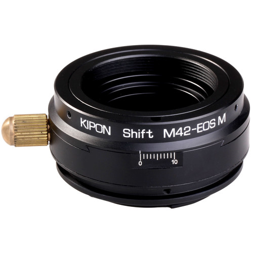 KIPON Shift Lens Mount Adapter for M42 Lens to Canon EOS-M Camera