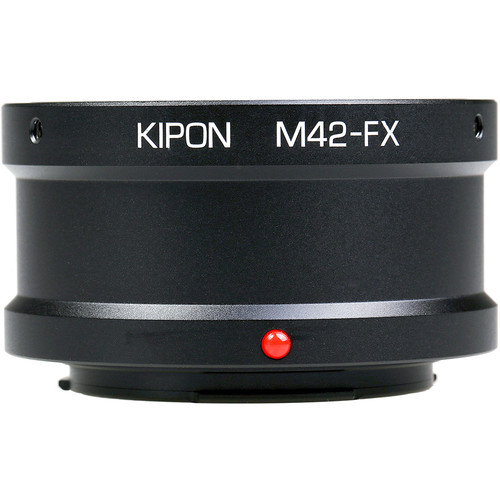 KIPON Lens Mount Adapter for M42 Lens to FUJIFILM FX-Mount Camera