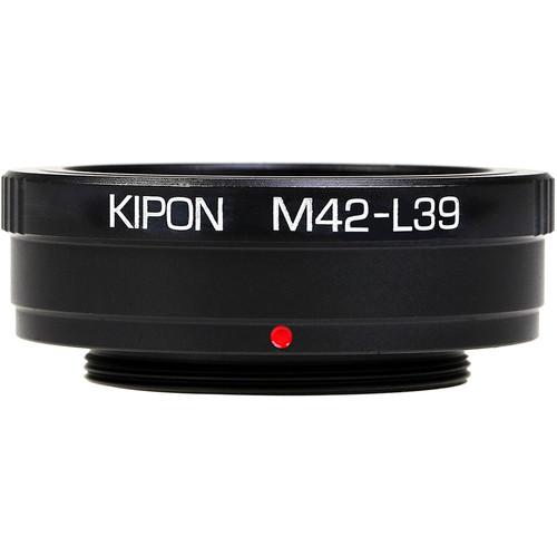 KIPON Lens Mount Adapter for M42 Universal Lens to L39-Mount Camera
