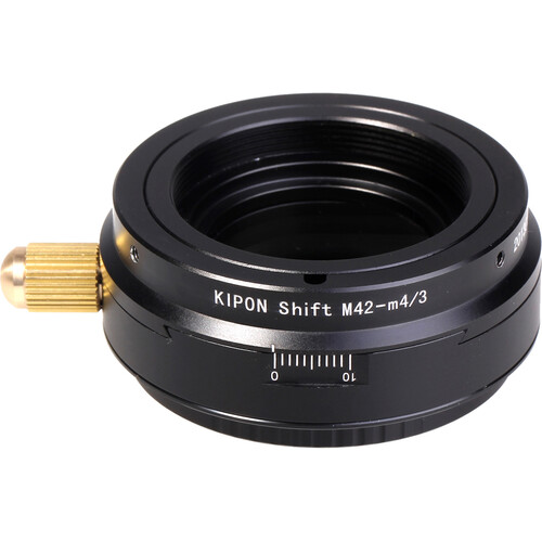 KIPON Shift Lens Mount Adapter for M42-Mount Lens to Micro Four Thirds Camera