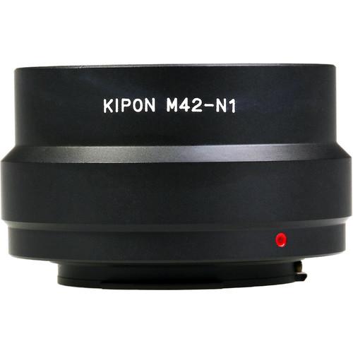 KIPON Lens Mount Adapter for M42-Mount Lens to Nikon N1-Mount Camera