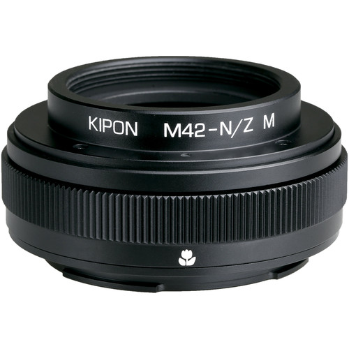 KIPON Lens Mount Adapter for M42-Mount Lens with Helicoid to Nikon Z-Mount Camera