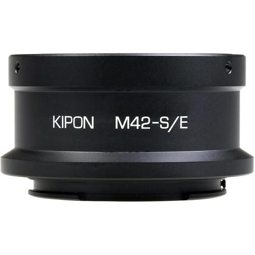 KIPON Lens Mount Adapter for M42-Mount Lens to Sony-E Mount Camera
