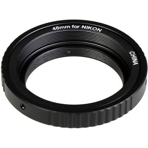 KIPON Lens Mount Adapter for M48 Screw Mount Lens to Nikon F-Mount Camera