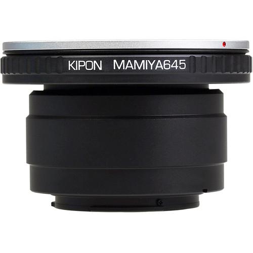 KIPON Lens Mount Adapter for Mamiya 645-Mount Lens to Sony-E Mount Camera