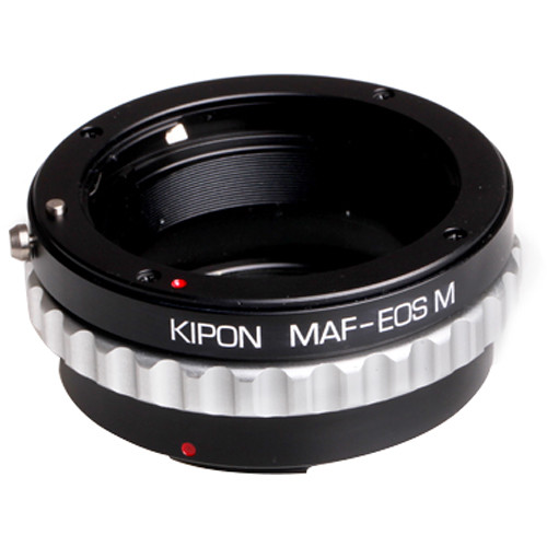 KIPON Lens Mount Adapter for Sony/Minolta A-Mount Lens to Canon EF-M Mount Camera