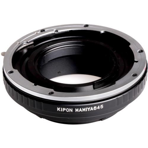 KIPON Lens Mount Adapter for Mamiya 645 Lens to Canon EF-Mount Camera