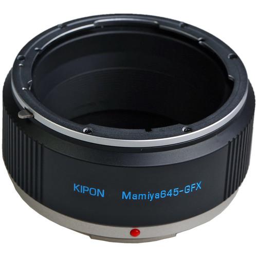 KIPON Lens Adapter for Mamiya 645 Lens to FUJIFILM G-Mount Camera