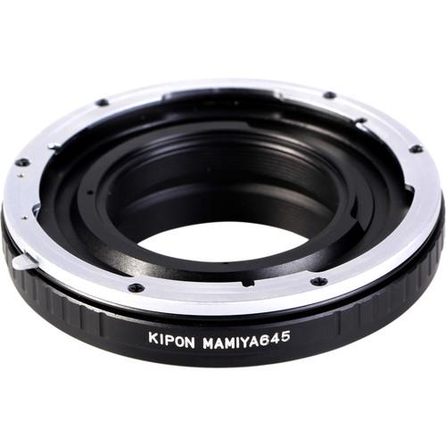 KIPON Lens Mount Adapter for Mamiya 645-Mount Lens to Pentax K-Mount Camera