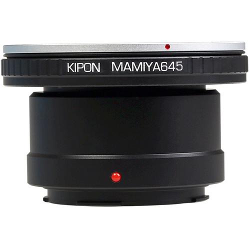 KIPON Lens Mount Adapter for Mamiya 645-Mount Lens to Leica L-Mount Camera