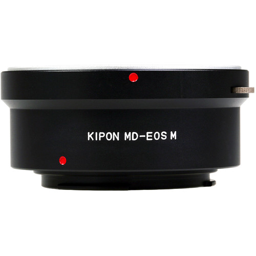 KIPON Lens Mount Adapter for Minolta MD-Mount Lens to Canon EF-M Mount Camera