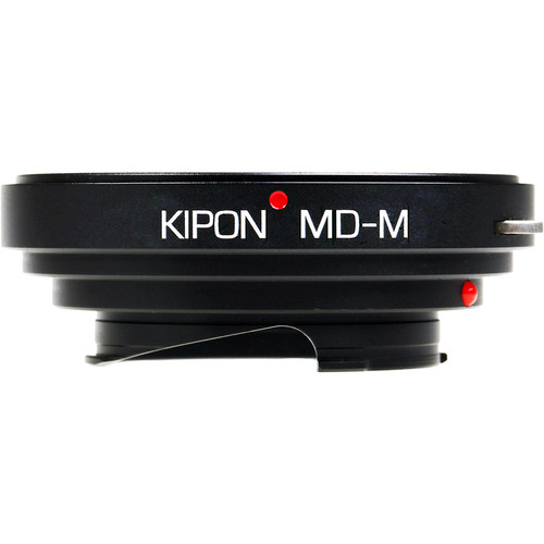 KIPON Lens Mount Adapter for Minolta MD-Mount Lens to Leica M-Mount Camera