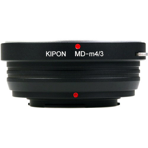 KIPON Lens Mount Adapter for Minolta MD-Mount Lens to Micro Four Thirds-Mount Camera