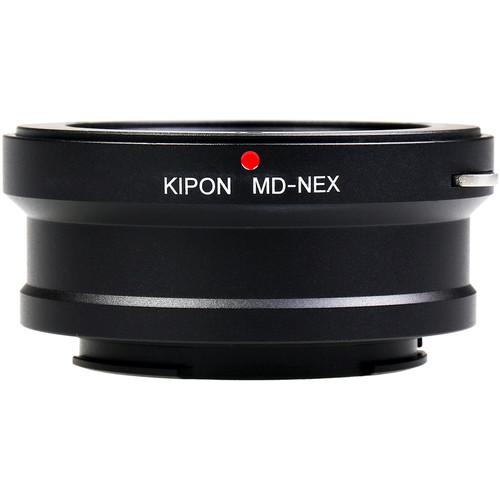 KIPON Lens Mount Adapter for Minolta MD-Mount Lens to Sony E-Mount Camera