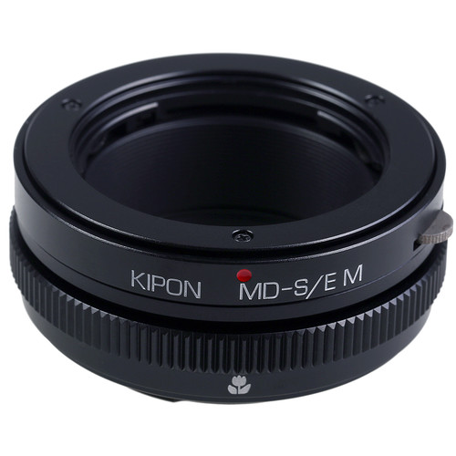 KIPON Lens Mount Adapter with Helicoid for Minolta MD-Mount Lens to Sony-E Mount Camera
