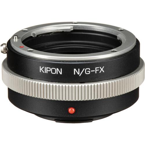 KIPON Lens Mount Adapter for Nikon F, G-Type Lens to FUJIFILM FX-Mount Camera