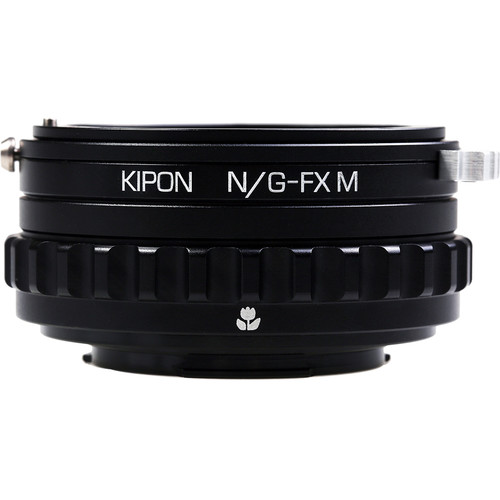 KIPON Nikon G-FX M with Helicoid Adapter