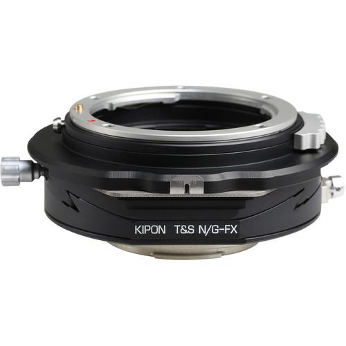 KIPON Tilt / Shift Lens Adapter for Nikon F, G-Type Lens to FUJIFILM FX Camera