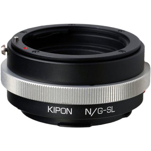 KIPON Lens Mount Adapter for Nikon F-Mount, G-Type Lens to Leica L-Mount Camera